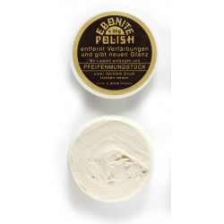 Pipe mouthpiece polish paste