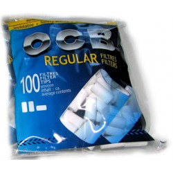 SIGARETIFILTRID OCB REGULAR 100 tk.