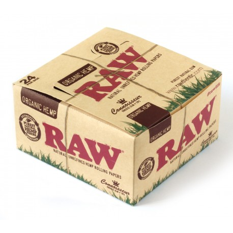 RAW Organic Connoisseur King Size Slim paber + Filter tips - 24 bookleti